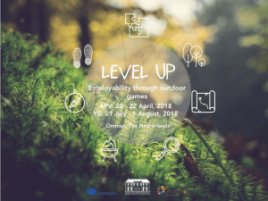 Level UP Cover_dates