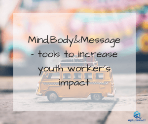 Mind, Body & Message - tools to increase youth worker's impact facebook photo