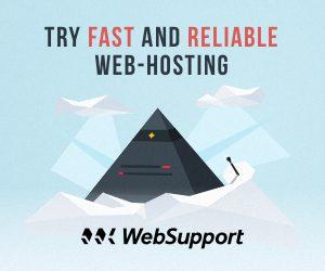 Hosting sponzorovaný od WebSupport
